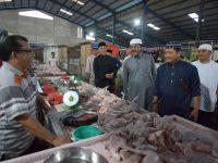 Gubernur Tinjau Pasar Bintan Center Tanjungpinang