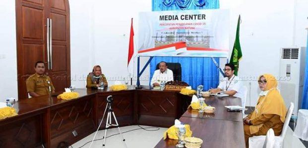 Pemkab Natuna Ikuti Vicon Sosialisasi Peraturan Presiden No 64 Tahun 2020