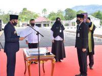 Bupati Hamid Rizal Lantik Hendra Kusuma Sebagai Pj.Sekda Kabupaten Natuna