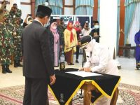 Gubernur Kepri Lantik Hj Rahma Menjadi Wali Kota Definitif