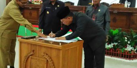 Wakil Ketua 1 DPRD Barsel Hadir Dalam Paripurna, Meskipun Sudah di Vonis 1,2 Th Penjara