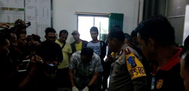 Kodim 0315/Bintan Bersama Satpol PP Adakan Razia Gabungan, Amankan Dua Warga Pemilik Narkoba