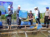 Pangkoarmada I Pimpin Panen Raya Budidaya Ikan Serentak  Jajaran Dispotmar Koarmada I Tahun 2018