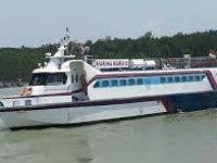 Kapal Marina Kandas di Pulau Duyung, Basarnas Respon Cepat