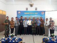 Lantamal IV Gelar Komsos TNI Di Stisipol Raja Haji