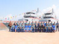 TNI AL Launching Tiga Unit Kapal Perang di Batam