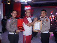 Satlantas Polres Tanjungpinang Juara 3 Penilaian Kawasan Tertib Lalu Lintas