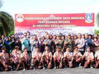 Lantamal IV Beri  Pembinaan SDM Pertahanan Kepada Generasi Muda Kepri