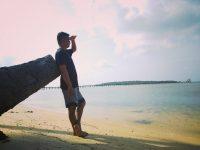 Mencumbu Senja di Ujung Dompak Island