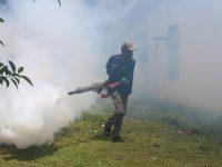 Lanud RHF Lakukan Pengasapan untuk Bembrantas Nyamuk Aedes Aegypti