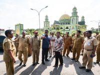 Bupati dan Wabup Bintan Tinjau Persiapan STQ VIII Provinsi Kepri