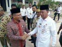 Syahrul Resmikan Peletakan Batu Pertama Pembangunan Masjid Al-Hasanah Kampung Nusantara