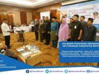 Dalmasri Kukuhkan Organisasi Kelitbangan Kabupaten Bintan