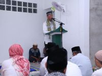 Awali Safari Ramadhan, Syahrul-Rahma kunjungi Masjid Amalus Sholihin