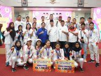 Atlet Porprov Terima Bonus Prestasi dari Pemko Tanjungpinang