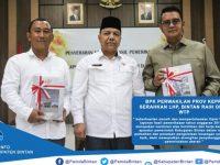 Kabupaten Bintan Menerima Opini WTP yang Diserahkan BPK RI Perwakilan Provinsi Kepri