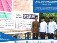 Dalmasri Syam Apresiasi Komitmen Desa Terkait Keterbukaan Informasi Alokasi Anggaran Dana Desa