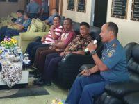 Komandan Lanudal Tanjungpinang Coffee Morning Bersama dengan Tokoh Masyarakat