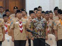 Komandan Puspenerbal menghadiri Pelantikan Majelis Pembimbing Daerah (MABIDA) Gerakan Pramuka Jawa Timur masa bakti 2019-2024