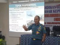 Komandan Lanudal Tanjungpinang Beri Materi Kepada 34 Calon Paskibraka