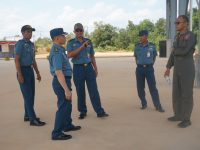 Kunjungan Program Kerja Sopsal di Lanudal Tanjungpinang