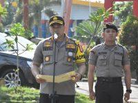 Jelang Pelantikan Presiden dan Wakil Presiden, TNI-POLRI Gelar Apel Kesiapan, Patroli Gabungan dan Pengecekan Pelabuhan Serta Bandara di Tanjungpinang