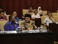 Lis Darmansyah Hadir Rapat Konsultasi Badan Urusan Legislasi Daerah DPD RI