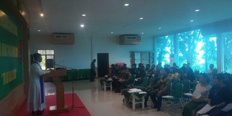 Memperingati Hari Juang TNI AD Tahun 2019, Korem 033/WP Gelar Doa Bersama