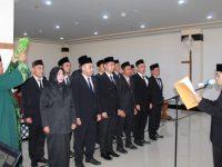 Bawaslu Kota Tanjungpinang Lantik 12 Anggota Panwascam untuk Pengawasan Pilgub 2020