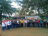 Polsek KKP dan Pelindo Tanam Pohon Bersama di Pelabuhan Sri Payung Kota Tanjungpinang