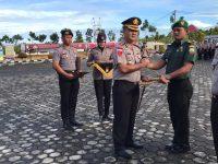 Danramil 07/Tambelan dan Babinsa Menerima Penghargaan dari Kapolres Bintan