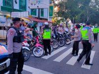 Di Hari Ke 2 Ramadhan, Polres Tanjungpinang Tertibkan dan Amankan Kendaraan Balapan Liar