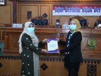 Plt. Wali Kota Tanjungpinang Rahma Sampaikan Nota LKPJ Tahun Anggaran 2019