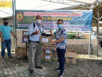 Paguyuban Batak Tanjungpinang Kembali Bagikan Sembako Gratis Sebanyak 368 Paket Ke Masyarakat