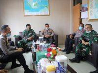 Kapolres Bintan AKBP Bambang Sugihartono Sambut Kunjungan Danrem 033/WP Kolonel Inf Harnoto