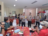 Irjen Pol Aris Budiman Bersilaturahmi Bersama Jurnalis Liputan Kamtibmas