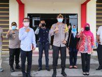 Kapolres Bintan AKBP Bambang Sugihartono Menerima Kunjungan Kerja KPUD