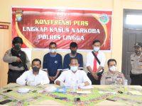Polisi Bekuk Residivis Pengedar Narkoba di Lingga