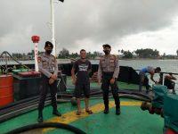 Sat Samapta Polres Lingga Patroli Siap Siaga Penangulangan Bencana