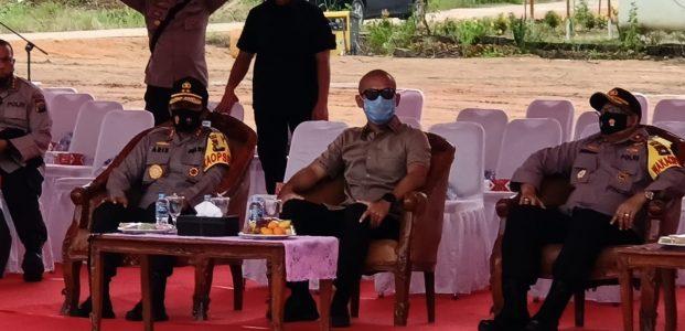 Kapolda Kepri Kunjungi KEK Galang Batang dan Lakukan Peletakan Batu Pertama Pembangunan Polsubsektor