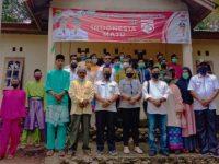 Wakil Bupati Lingga M Nizar Hadir Peresmian Kantor Desa Persiapan Sebung