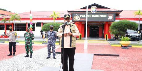 """Pemkab Karimun Bersinergi Dengan FKPD Untuk Menggelorakan Gerakan """"Karimun Bermasker"""""""