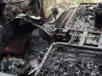 Mobil Pickup Pedagang Terbakar di Lingga, Diduga Akibat Tabung Gas Yang Dimuat Meledak