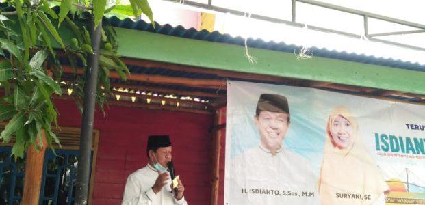 Cuti Pertama Silaturahmi dengan Warga Pulau Mapur, Isdianto Didoakan Kembali Pimpin Kepri