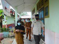 Pjs. Bupati Lingga Juramadi Esram Kunjungi Beberapa Sekolah di Lingga