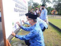 Pemkab Lingga Deklarasikan Gerakan Netralitas Aparatur Sipil Negara