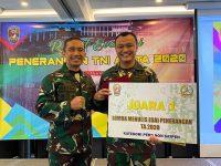 Kadispenad Pimpin Rapat Evaluasi Bidang Penerangan TNI AD 2020