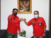 Sambut Kunjungan Silaturrahmi, Dandim 0315/Bintan Diminta Ormas PBB Tanjungpinang Jadi Dewan Pembina
