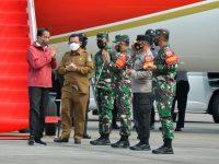 Presiden RI Joko Widodo Bersama Rombangan Tiba di Kota Batam