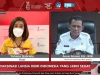 Tampil Live di CNN, Gubernur Paparkan Strategi Menggesa Vaksinasi Bagi Lansia di Kepri